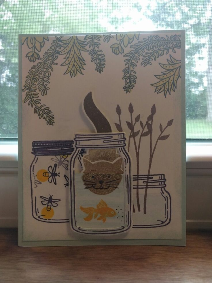 Took An Idea From Pinterest And Made It My Own Since I Had: 1000+ Images About Stampin Up Only On Pinterest