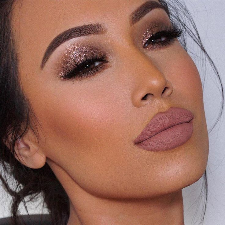 Brown Sugar | Shimmer Eye Glaze | Wedding makeup for brown ...