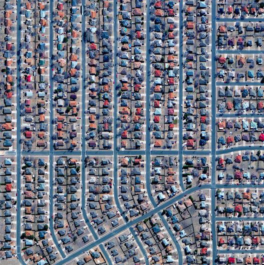 Civilization in Perspective: Capturing the World From Above,Killeen, Texas, USA. Image Courtesy of Daily Overview. © Satellite images 2016, DigitalGlobe, Inc