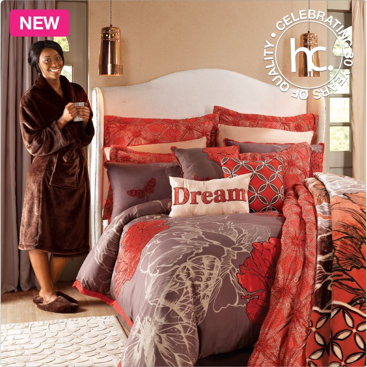 Madeira comforter set from R1399 cash or only R137p/m! Shop now >> http://www.homechoice.co.za/Bedding/Bedding-Sets/Madeira.aspx