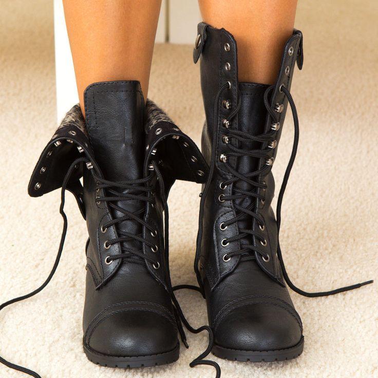 Best 20  Combat boots ideas on Pinterest | Black boots, Shoes ...