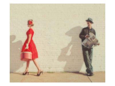 Mensen (Kleurenfotografie) Poster - bij AllPosters.be