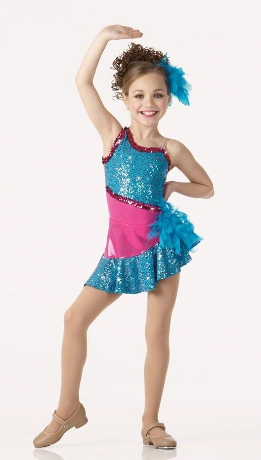 Simply Irresistible Dance Costume Sequin Leotard \u0026 Skirt Tap Jazz Child  X,Small