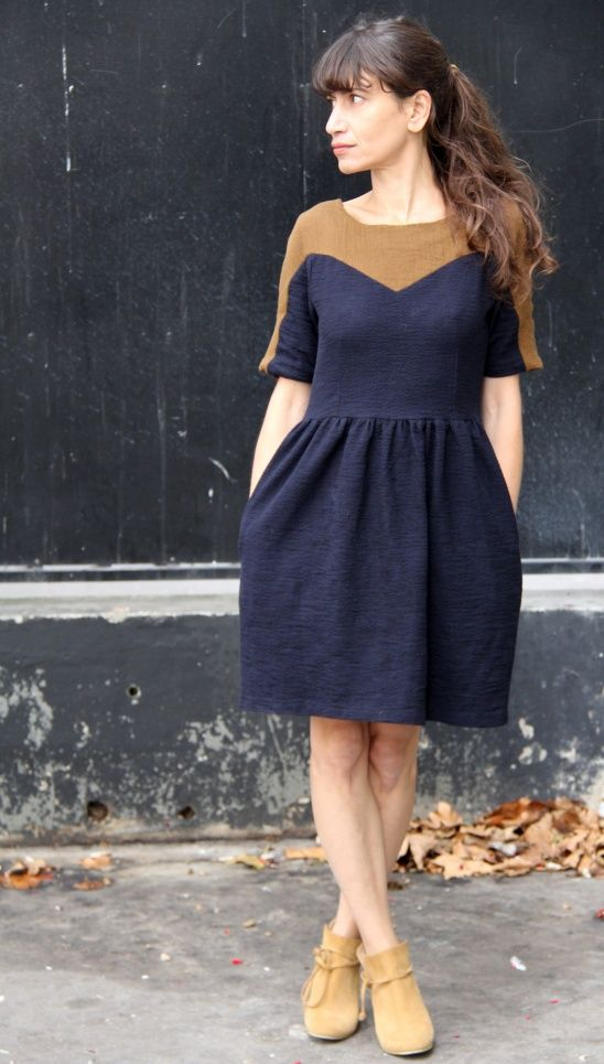 Leottie automn by Jolies bobines | Project | Sewing / Dresses | Kollabora