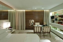 Confira esse quarto funcional com decoração delicada e feminina,pensado para o dia-a-dia de uma mulher!