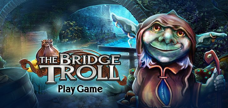 NEW FREE GAME just released! #hiddenobject #freegame #html5game #hiddenobjects Play 'The Bridge Troll'