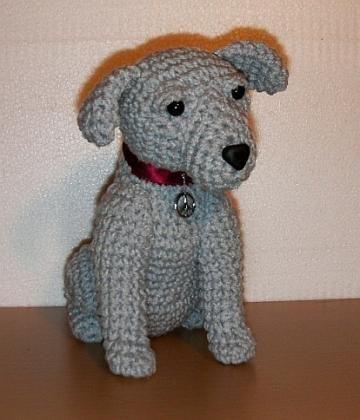 Free Pattern Crochet Stuffed Animals CROCHET BULLDOG STUFFED Fascinating Knitted Stuffed Animal Patterns