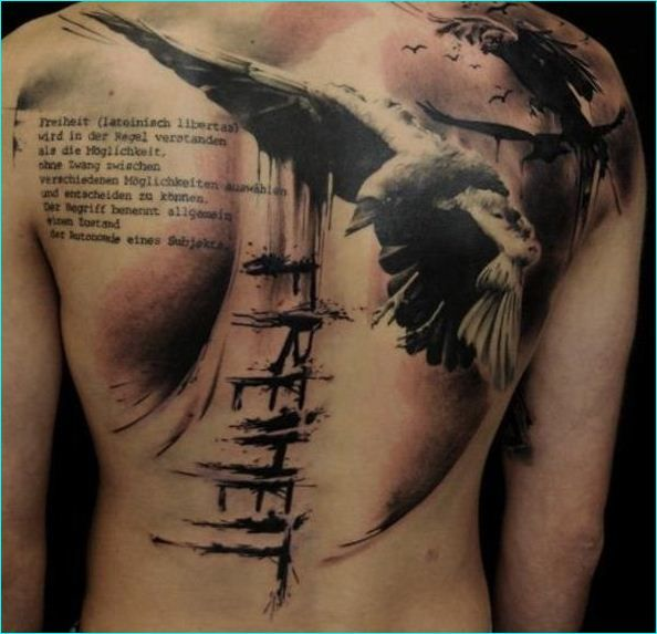 30 Best 30 Striking Raven Tattoos With Deep Meanings