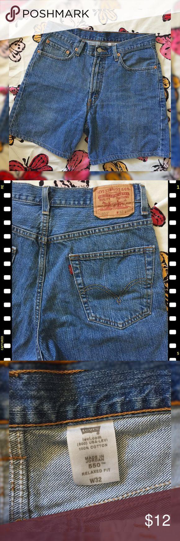 Levi's 550 High waisted Shorts Levi's 550 High Waisted Jean Shorts. Levi's Shorts Jean Shorts