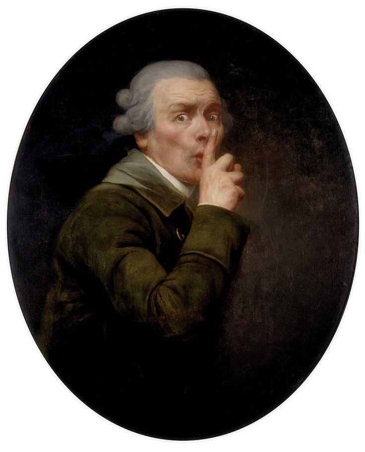 Joseph Ducreux · Autoritratto come discreto · 1790 · Spencer Museum of Art · Lawrence
