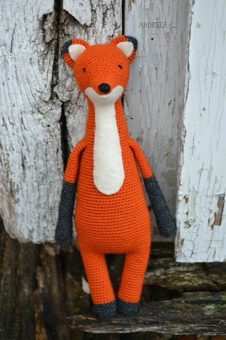 #Fox  #crochet #amigurumi