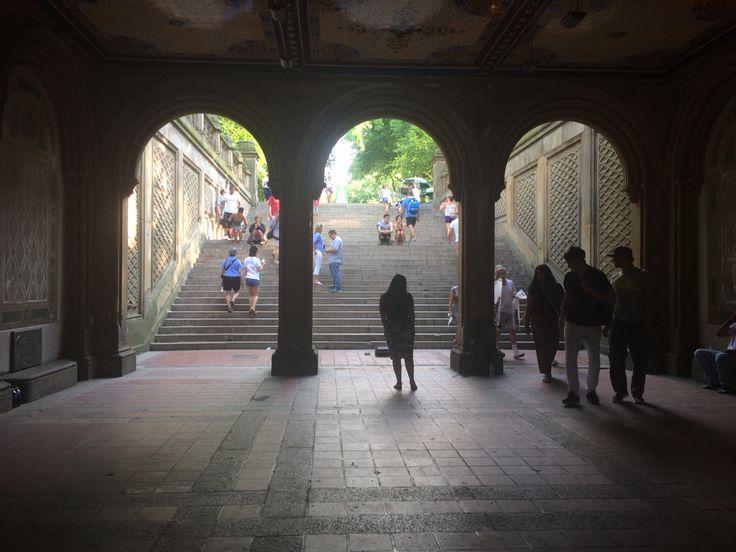 Central park's lights