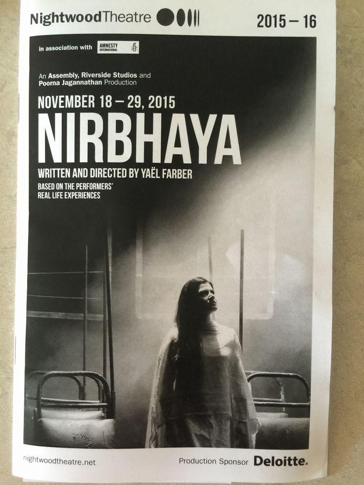 Nirbhaya, the play