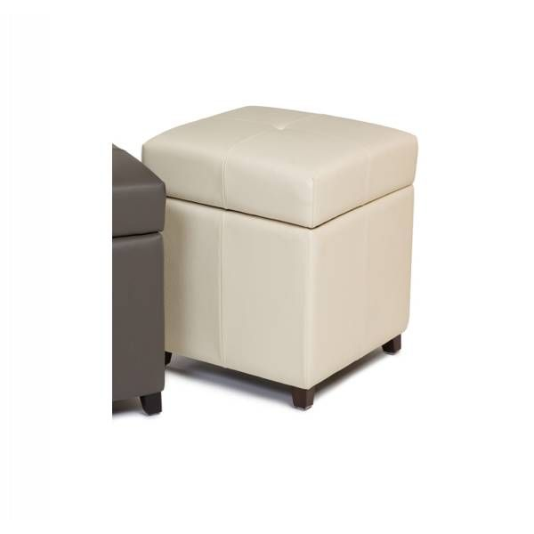kuka square storage ottoman vanilla star furniture star furniture houston tx