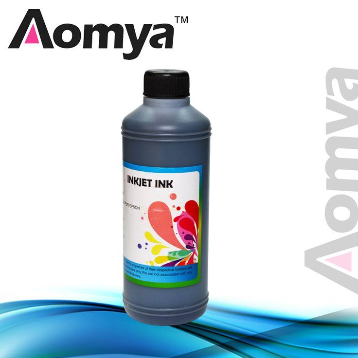 1 liter BLACK COLOR Water based Dye ink for Epson L100/L110/L200/L800 printer (Bulk ink) 1000ml/ bottle