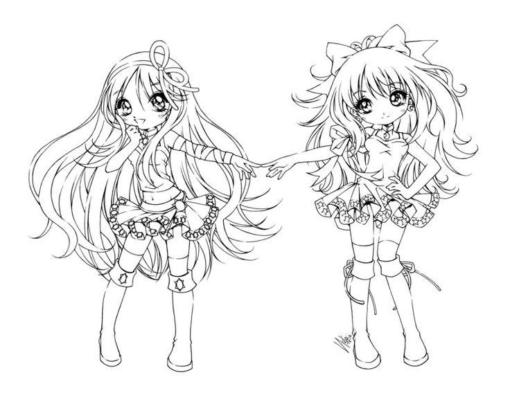 how to draw chibi mini ninjas hiro and suzume