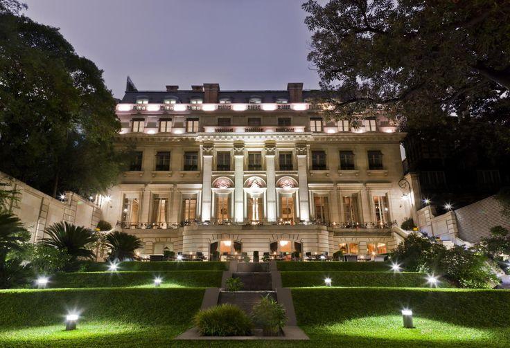#Palacio #Duhau – Park #Hyatt #Buenos Aires.  Die Zimmer des an der Avenida Alvear gelegenen #Luxushotels sind natürlich im #Belle-Epoque-Stil eingerichtet