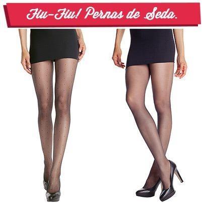 Meia-calça fina faz parte dos melhores truques femininos. Alonga, firma e deixa suas pernas sedosas!   Venha pra Click Lingerie e confira as peças da categoria meias: http://www.clicklingerie.com.br/1400-meias