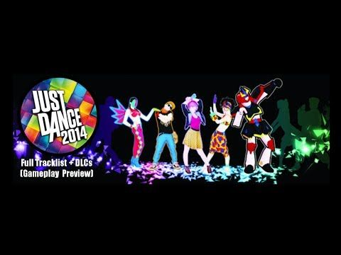 Just Dance 2014 - Full Tracklist (+DLC and Previews) - YouTube