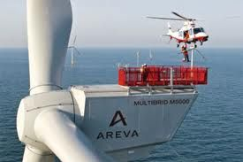 Offshore Wind Turbines - AREVA M5000 Offshore Wind Turbines & Vestas V80 Wind turbine...
