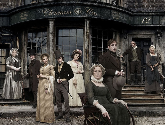 Little Dorrit - SUCH a good series. One of my favorite Dickens books, too. :)