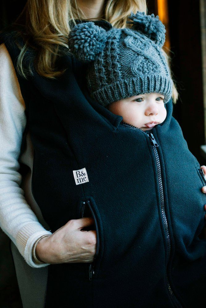 Booker Vest In All Black New Baby Carriers Pinterest Baby