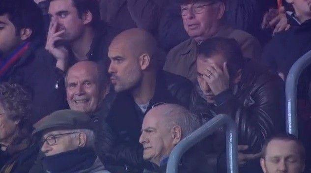 Guardiola reage após cobrança de falta de Messi