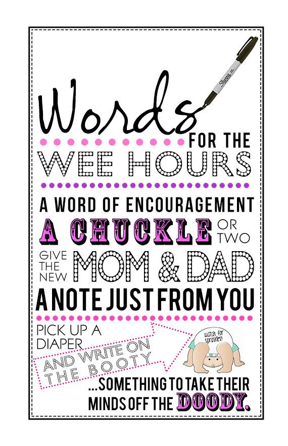 Words for the Wee Hours Printable PDF for by KrysteenaMarieDesign, $4.00