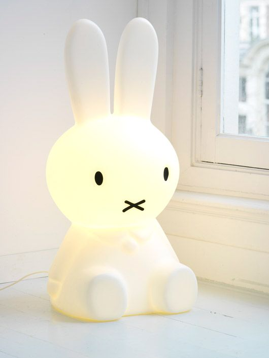 charming bunny light, perfect for kids room, funny, rabbit, glowing
