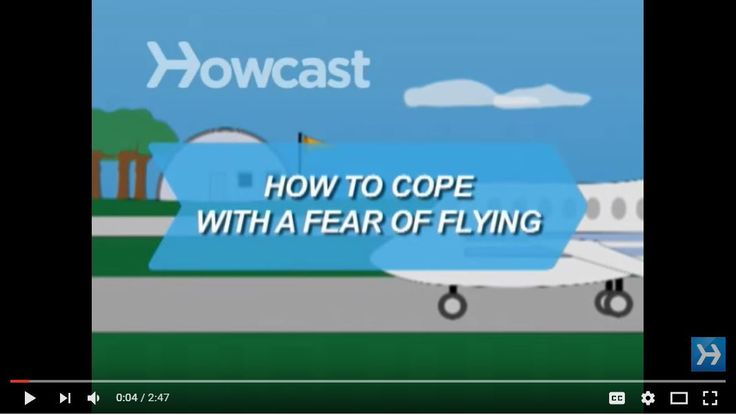 We cant cure your #Flying #phobia but this video has some great #tips on #howto cope with a #FearOfFlying.  #JetSet