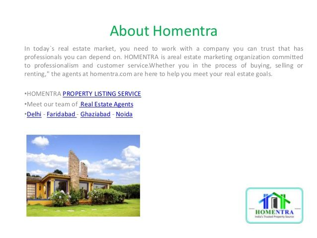 Looking for Property solutions? Now - Buy/Sell Property at Homentra.com - Online map based Real Estate Property, Independent House for Sale  east/ west/ north/ south Delhi, Noida, Gurgaon, Ghaziabad, Sonepat, Faridabad .