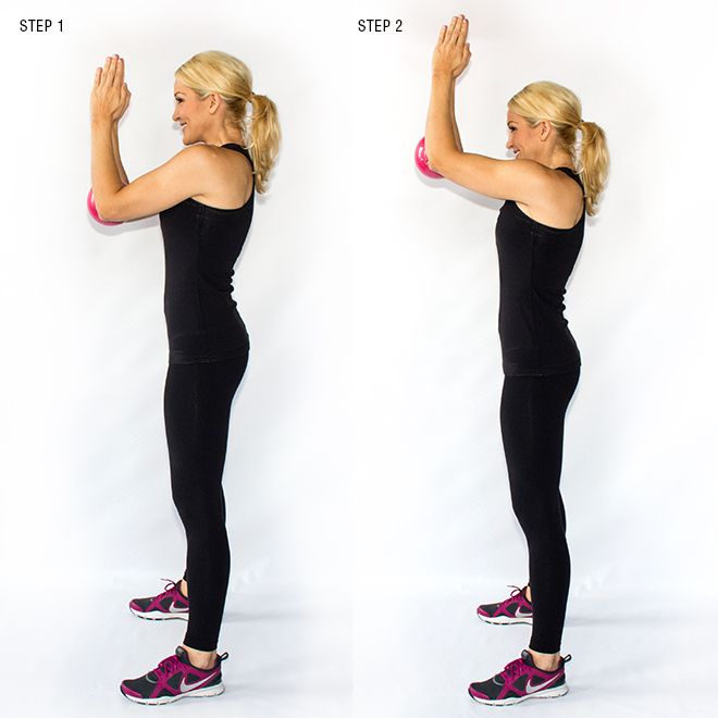 Buh-Bye Bat Wings: Exercises to Cut the Upper Arm Fat.Pyramid Pulses- lock a small medicine ball between your elbows and simply pulse up and down.