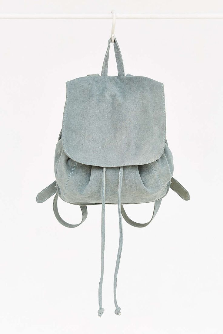 Ecote Suede Flap Mini Backpack
