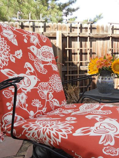 Just Another Hang Up: More Patio Cushions...