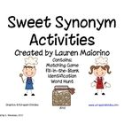 A fun and engaging set of activities to practice synonym identification and vocabulary development. This set includes a word hunt, matching game, ...