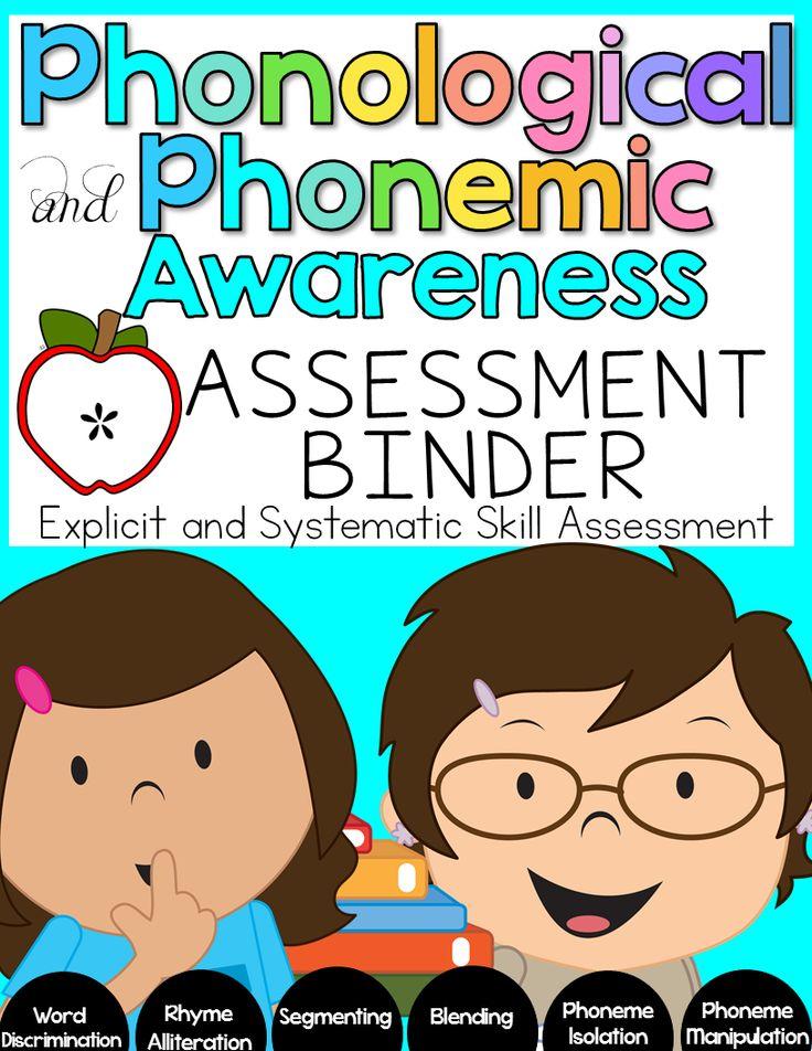 Phonological and Phonemic Awareness Assements