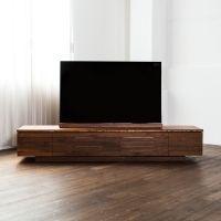 【商品画像】リアル オーダーTVボード 波形面モデル | おしゃれ家具通販・インテリアショップのリグナ