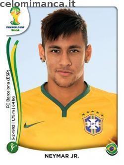 Panini Coppa del Mondo FIFA Brasile 2014: Fronte Figurina n. 48