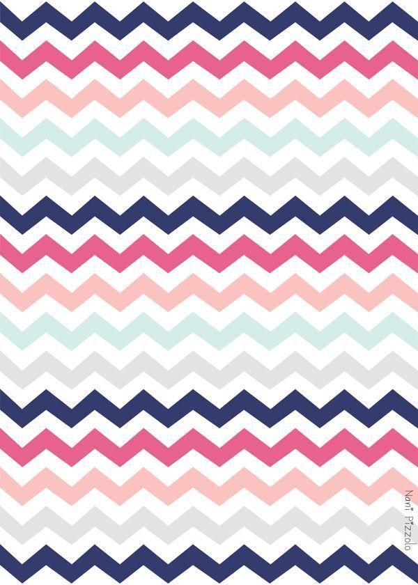 turquoise zigzag wallpapers pinterest - photo #28