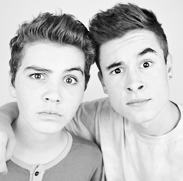 Sam Pottorff and Kian Lawley