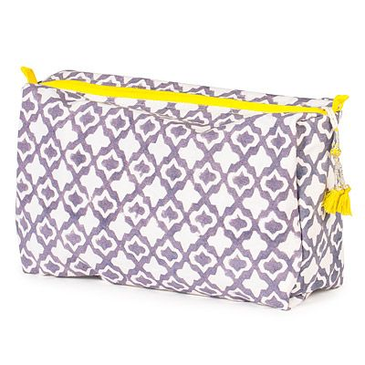 Now I just have to book a trip someplace! Look what I found at UncommonGoods: eyelet large toiletry bag... for $38 #uncommongoods