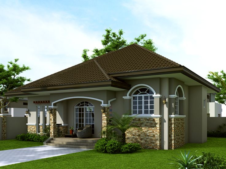 Superior Small House Design: SHD 2014007 | Pinoy EPlans   Modern House Designs, Small
