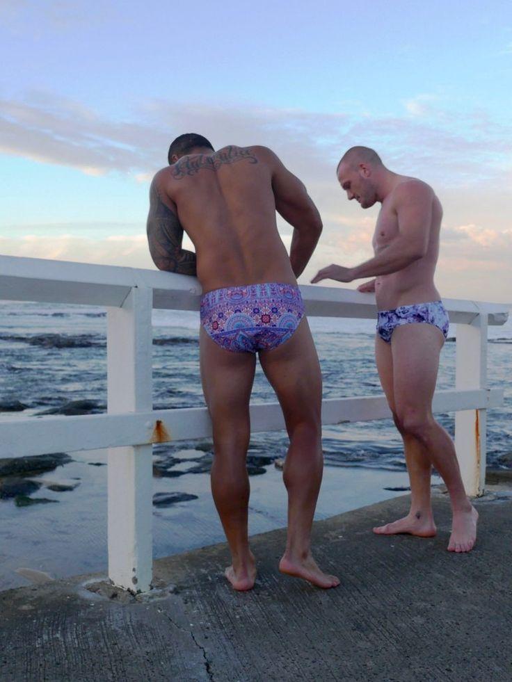 Mens Morocco Finchies™ Swimsuit Sizes Small - X Large www.ondineswim.com.au