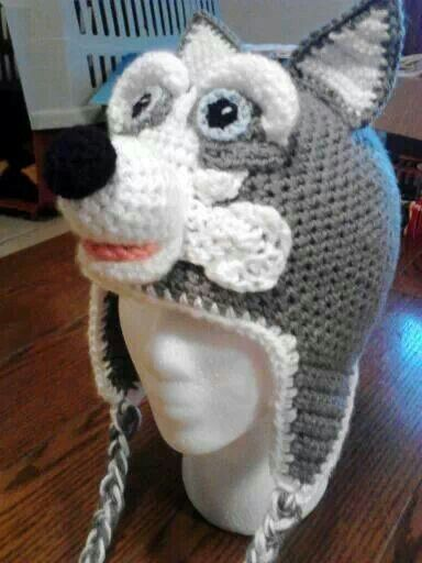 Wolf hat... Now that's awesome
