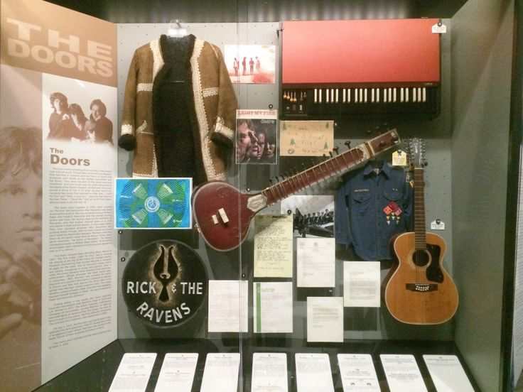 Doors artifacts at the Rock and Roll Hall of Fame – Paris Mojo
