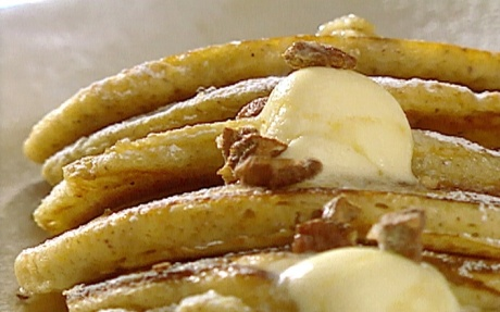 Food Network Banana Buttermilk Pancakes