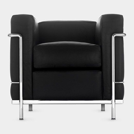 lc 2 chair le corbusier pierre jeanneret charlotte perrland 1928 in the moma collection. Black Bedroom Furniture Sets. Home Design Ideas