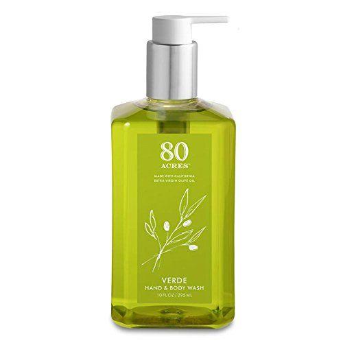 80 Acres Verde Olive Oil Hand