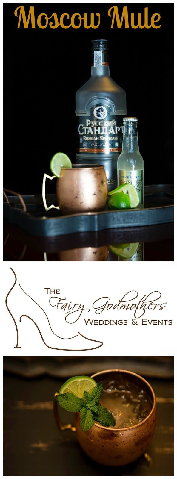 Fabulous FG Friday Cocktail: Moscow Mule - Signature Drink #signaturedrink #cocktail - Images by http://tworingsweddings.com/ - via Fairy Godmothers Weddings & Events