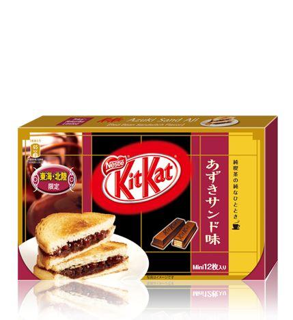 ネスレ キットカット ミニ あずきサンド味 12枚 :: ネスレ製品ラインナップ